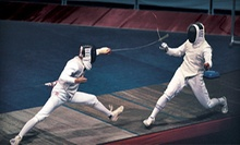 60-Minute Fencing Class for One or Two at North Atlanta Fencing Center (Up to 60% Off)
