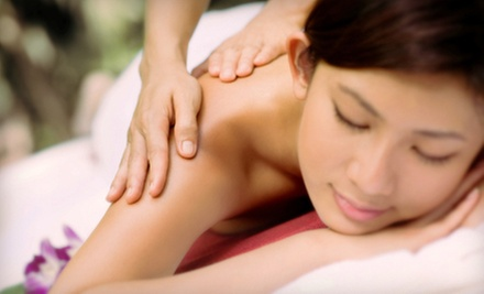 One or Three 60-Minute Custom Massages at Duke and Duchess Salon and Spa (Up to 54% Off)