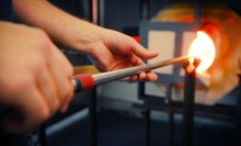 One-Hour Glass-Blowing Workshop for One or Two, or $25 for $50 Worth of Glass Art at Luke Adams Glass