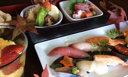 Chef's Omakase Prix Fixe Japanese Dinner for Two at I Love Sushi on Lake Union. Groupon Reservation Required.