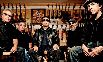 Fiestaval with Los Lobos and Malo at Cesar Chavez Plaza Park on September 21 at 3 p.m. (Up to 50% Off)