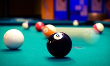 90 Minutes of Pool and a Large Pizza or Three Hours of Pool and an Extra Large Pizza at Rack Daddy's (58% Off)