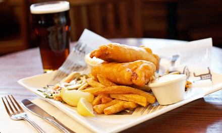 Irish Food and Drinks for Two or Four at McGarvey's Wee Pub (45% Off). Four Options Available.