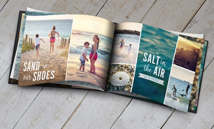 5x7, 8x11, or 12x12 Custom Photo Book from Snapfish (Up to Half Off)
