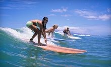One Surf Lesson, Three Surf Lessons or Half-Day Surfboard or Paddleboard Rental at Star-Surf (Up to 62% Off)