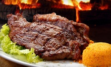 Steaks and South American Cuisine at Samba Loca Brazilian Steakhouse (Up to 56% Off). Two Options Available.
