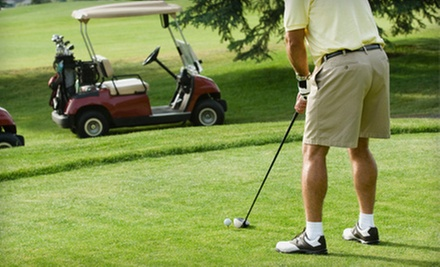 18-Hole Rounds of Golf with Cart Rental and Optional Range Balls at Cherry Creek Golf Club (Up to 56% Off)