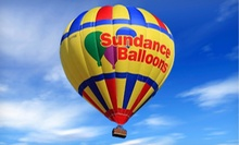 Hot-Air Balloon Ride for One on a Weekday Morning or Evening or Anytime from Sundance Balloons (Up to 47% Off)