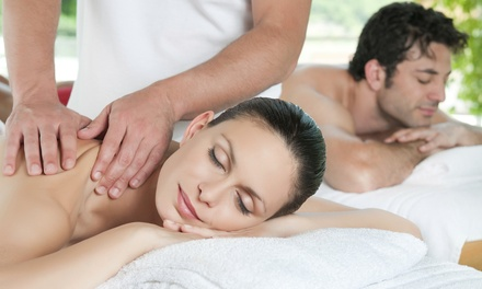 60-Minute Swedish Massage with Foot Scrub for Individual or Couple at Serenity Day Spa (Up to 61% Off)