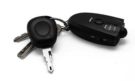 Porta-chaves com alcoolímetro e lanterna por 9,99€ ou dois por 16,99€