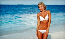 One or Two Full-Body Scrubs, Spray Tans, and Tanning-Maintenance Bags at Bronzed Buff N Bare (Up to 53% Off)