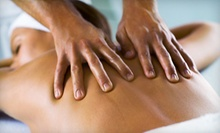 60-Minute Massage or 90-minute Massage with Foot Scrub at Queenie's Alpha & Omega Massage (Up to 64% Off)