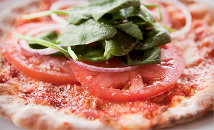 Two-Pizza Meal or Pizza, Sandwiches, and Appetizers for Takeout or Delivery from Tarantino (Up to 51% Off)