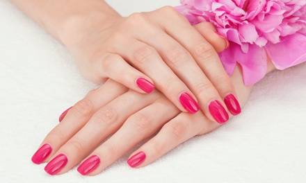 Two or Four No-Chip Manicures at Pink Nail Spa (51% Off)