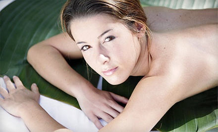 Swedish Massage, Facial, and Pedicure, or Facial and Microdermabrasion at Spa Constantine (Up to 57% Off)
