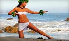 5, 10, or 20 Hula and Tahitian Dance-Fitness Classes at Studio Silhouette (Up to 75% Off)