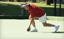 Three- or Six-Month Lawn-Bowling Club Membership for Two or Four with Pizza at Santa Cruz Bowls Club (Up to 82% Off)