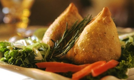 Indian Food for Two or Four at Royal India Gaslamp (45% Off)