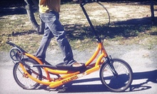 $40 for a Half-Day ElliptiGo Rental from M. Cruz Bicycle Rentals &amp; Segway Tours ($80 Value)