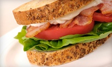 Deli Lunch for Two or Four, with Soup or Chili, Entrées, and Beverages at Cozy Corner Deli & Caterers (Half Off)