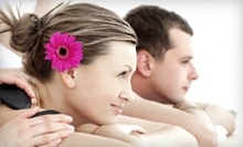 Massage, Facial, and Wine for One or Two at Qui Si Bella Spa (Up to 54% Off)