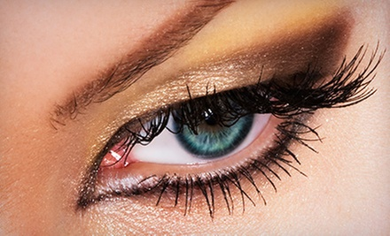 Full Set of Eyelash Extensions with Up to 45 or 60 Lashes Per Eye at The Lash Lounge (Up to 56% Off)