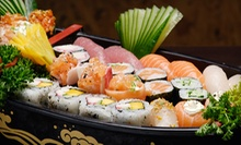 Sushi Meal for Two or Four with Soup or Salad, Edamame Appetizer, and Sushi Boat at Mint 2 Thai-Sushi (Up to 56% Off)