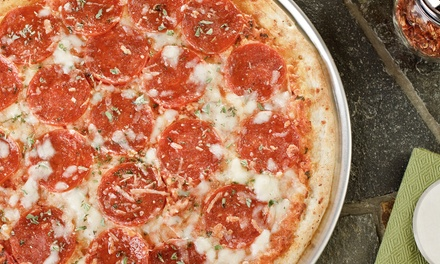 $9.25 for $14 Worth of Specialty Pizzas and Italian Food at Mancino's Pizza and Grinders