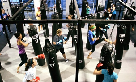 One Month of Kickboxing Classes at Bodyfit Punch (Up to 54% Off)