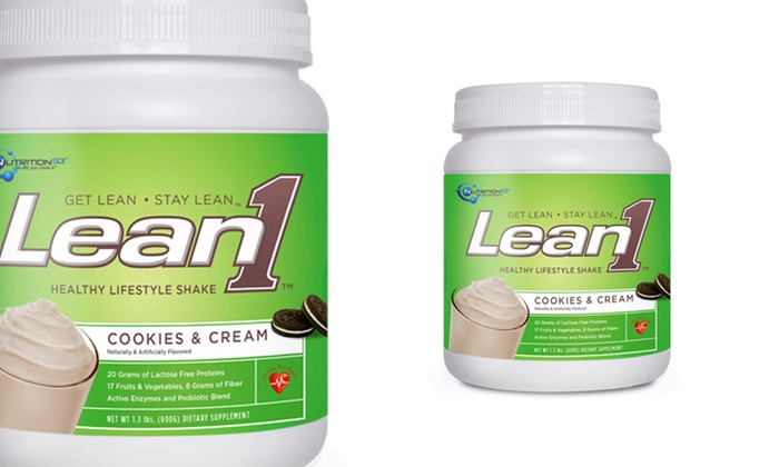 Lean 1 meal replacement for weight loss