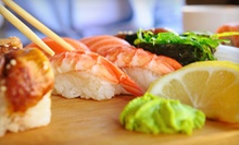 Sushi and Japanese Food at Mikado Japanese Cuisine (Up to 52% Off). Two Options Available.