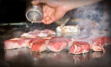 Japanese Food and Drinks at Samurai Japanese Steakhouse and Sushi Bar (Up to 53% Off). Two Options Available.
