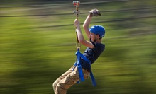 Zipline Canopy Tour with Option of Motorized Sky Surfer Ride at Adventure Ziplines of Branson (Up to 55% Off)