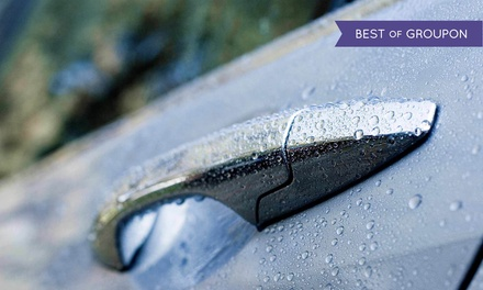 Three The Works or Ultimate Car-Wash Packages at Francis and Sons Car Wash (Up to 45% Off)