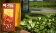 $14 for a Vineyard Tour, Complimentary Wine Tasting, and a Take-Home Bottle for Two at Dennis Vineyards ($28.50 Value)