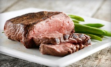 Steak-House Dinner with Appetizers and Dessert for Two or Four at Lee Gribben's on Main (Up to 59% Off)