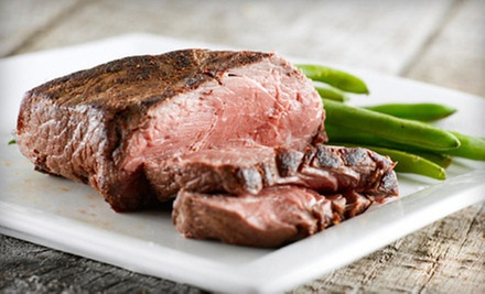 Steak-House Dinner with Appetizers and Dessert for Two or Four at Lee Gribben&#x27;s on Main (Up to 59% Off)