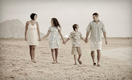 On-Location Photo Shoot for One, Two, or Up to Five with Prints from Hawaiianpix (Up to 81% Off)