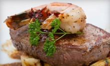 Dinner for Two or Four at Scampi's Restaurant (Up to 51% Off) 