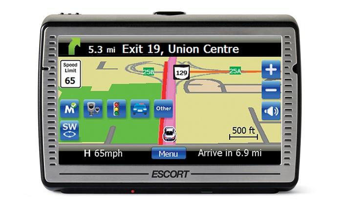 """Escort Passport iQ 5"""" Widescreen GPS Navigator with Radar ..."""
