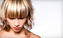 Haircut with Option for All-Over Color or Partial or Full Highlights from Teresa Riley at Bleach (Up to 60% Off)