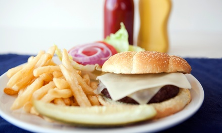 Casual Food and Drinks for Two or Four at Brick City Cafe (Up to 46% Off