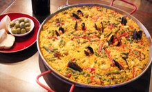 $10 for $20 Worth of Spanish Tapas, or Seafood Paella for Up to 6 or 12 at Espana Bar de Tapas