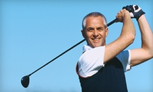 Golf Package with Lesson and Virtual Golf or Choice of Six or 12 Buckets of Range Balls at Blair Oko Golf Academy (Up to 58% Off)
