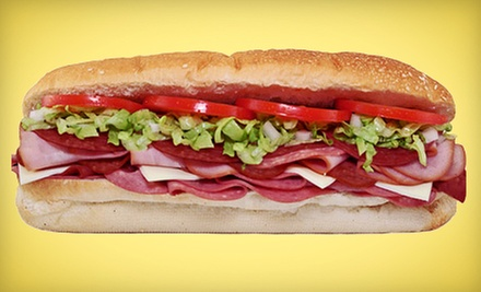 $15 for Three Vouchers, Each Good for $10 Off Your Bill at Tubby's Grilled Submarines Farmington ($30 Value)