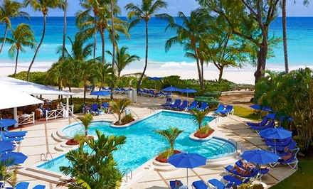 Groupon Deal: 3- or 4-Night All-Inclusive Stay for Two at Turtle Beach By Elegant Hotels in Barbados. Includes Taxes and Hotel Fees.