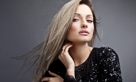 Cut, Conditioning, and Style with Optional Partial or Full Highlights or Color at Hair Salon & Color Lab (Up to $ Off)