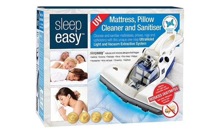 Groupon Goods - BW: $79 Sleepeasy UV Mattress Cleaner and Sanitiser with Spare HEPA filter, Includes Nationwide Delivery ($199 Value)