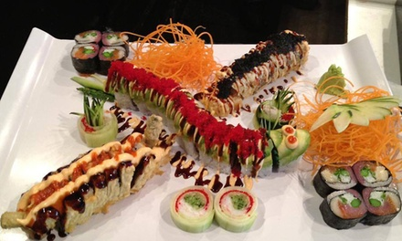$25 for $40 Worth of Japanese Entrees, Sushi, and Drinks at Hoshi Sushi Lounge