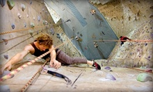Introductory Rock-Climbing Class for One, Two, or a Family of Up to Four at Philadelphia Rock Gyms (Up to 58% Off)